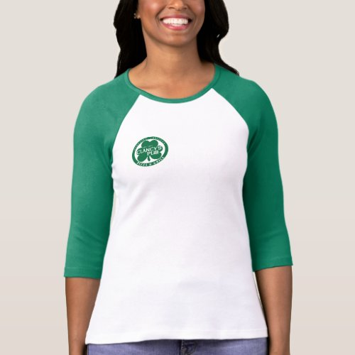 Women's 3 quarter sleeves Clancy's Shirt