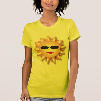 Women's 3D Sun T-Shirt