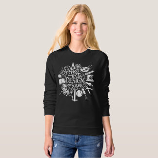 Women's A&D Branded Dark Sweat Shirt