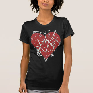 Womens A Heart Impaled top