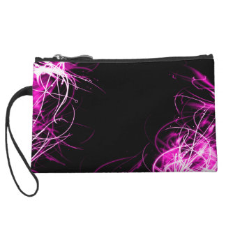 Women's Abstract Pink Design Mini Purse