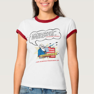 Women's Academic Freedom Ringer T-Shirt