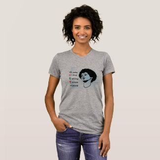 Womens afrocentric t-shirt