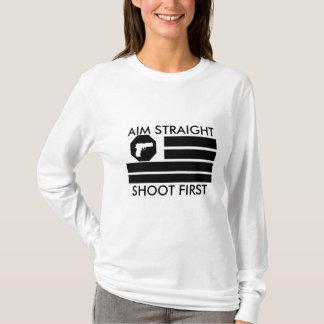 Women's AIM STRAIGHT- SHOOT FIRST T-Shirt