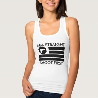 Women's AIM STRAIGHT- SHOOT FIRST Tank Top