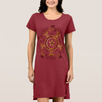 Women's Alternative Apparel T-Shirt Red Dress