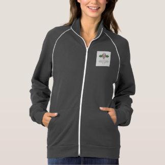 Women's American Apparel California Fleece Track J American Apparel Fleece Track Jacket