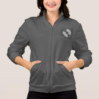 Women's American Apparel California Fleece Zip DJ Printed Jacket