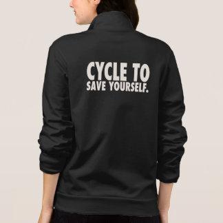 Women's American Apparel California Fleece Zip Jog Jacket