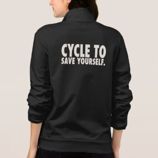 Women's American Apparel California Fleece Zip Jog Shirts