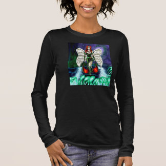 Women's American Apparel Emerald Angel Jersey Long Sleeve T-Shirt