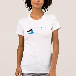 Women's American Apparel Fine Jersey T-Shirt, Whit T-Shirt