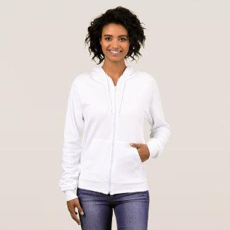Women's American Apparel Fleece Zip Hoodie