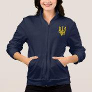 Women's American Apparel Jacket Ukraine Trident at Zazzle