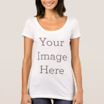 "Women&#39;s American Apparel Poly-Cotton T-Shirt<br><div class=""desc"">Design your own custom clothing on Zazzle. You can customize this women&#39;s American Apparel poly-cotton t-shirt to make it your own. Add your own images,  drawings or designs for some seriously stylish clothing that&#39;s made for you! Simply click &quot;Customize&quot; to get started.</div>"