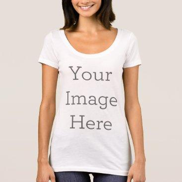 zazzle_templates Women's American Apparel Poly-Cotton T-Shirt