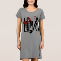 ** Women's American Apparel T-Shirt Dress