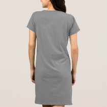 Women's American Apparel T-Shirt Dress aeroplane