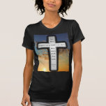 Women's American Apparel T-shirt with Genesis 1:1.
