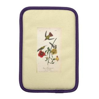 Women's Antique Bird Etching  iPad Mini Sleeve