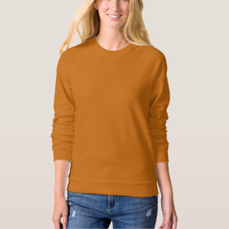 Women's Apparel Raglan Sweatshirt Camel Brown