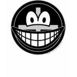 Black widow smile   womens_apparel_tshirt