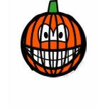Jack-o-lantern smile   womens_apparel_tshirt