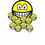 Babysitting smile   womens_apparel_tshirt