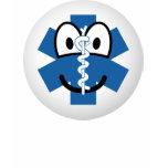 EMT emoticon Emergency Medical Technician  womens_apparel_tshirt