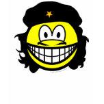 Che Guevara smile   womens_apparel_tshirt