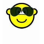 Aviators buddy icon Sunglasses   womens_apparel_tshirt