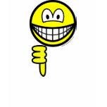 Thumb down smile   womens_apparel_tshirt