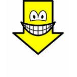Down smile arrow  womens_apparel_tshirt