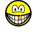 Gold tooth smile   womens_apparel_tshirt