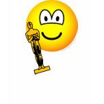 Oscar winning emoticon   womens_apparel_tshirt