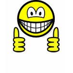 Thumbs up smile   womens_apparel_tshirt