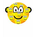 Multiple personality emoticon   womens_apparel_tshirt