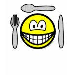 Cutlery smile   womens_apparel_tshirt
