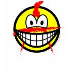 Anarchist smile   womens_apparel_tshirt