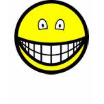 Tiny eyed smile   womens_apparel_tshirt