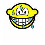 Sweating smile   womens_apparel_tshirt