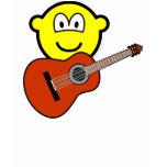 Acoustic guitar buddy icon   womens_apparel_tshirt