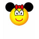 Minnie Mouse emoticon   womens_apparel_tshirt