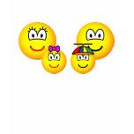 Family emoticon   womens_apparel_tshirt