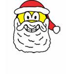 Santa smile   womens_apparel_tshirt