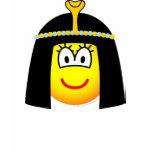 Cleopatra emoticon   womens_apparel_tshirt
