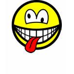 Crazy smile   womens_apparel_tshirt