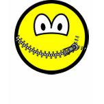 Zipped up smile   womens_apparel_tshirt