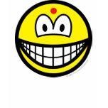 Hindu smile   womens_apparel_tshirt