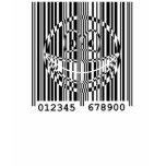 Bar code smile   womens_apparel_tshirt